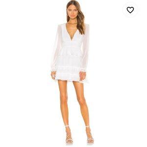Lucianna mini dress in ivory